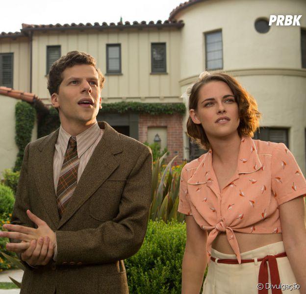 """Com Kristen Stewart e Jesse Eisenberg, filme """"Café Society"""" estreia esta quinta-feira (25) no Brasil"""