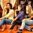 """Não é a primeira vez que Bruna Marquezine compartilha fotos nos bastidores de """"Em Família"""""""