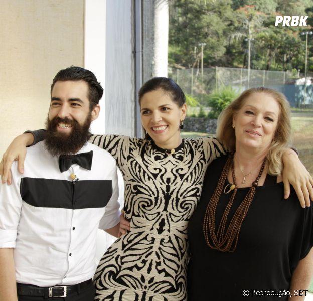 """No """"Bake Off Brasil"""", Marcos, Camila e Noemy são os grandes finalistas do programa!"""