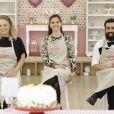 """No """"Bake Off Brasil"""", Noemy, Camila e Marcos são finalistas do reality de culinária"""
