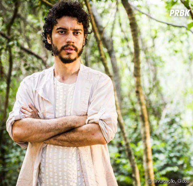 """Em """"Velho Chico"""", Martim (Lee Taylor) é assassinado a tiros por Carlos Eduardo (Marcelo Serrado) após investigação"""