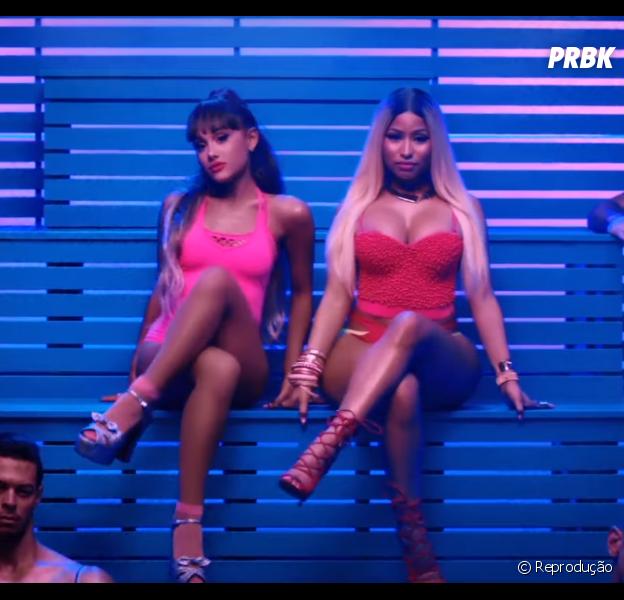 """Veja porque Ariana Grande e Nicki Minaj lançaram um grande hino fitness com """"Side To Side"""""""