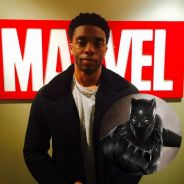 """De """"Pantera Negra"""", Chadwick Boseman compara filme a """"Homem-Formiga"""": """"Mais corajoso"""""""