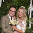 "Leonard (Johnny Galecki) e Penny (Kaley Cuoco) já tinham se casado na 9° temporada de ""The Big Bang Theory"""
