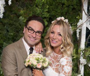 """Leonard(Johnny Galecki) ePenny(Kaley Cuoco) já tinham se casado na 9° temporada de""""The Big Bang Theory"""""""