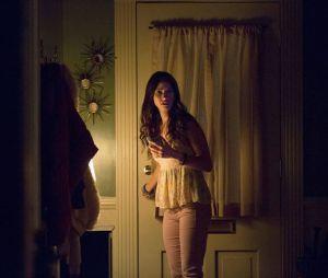 "As imagens divulgadas da série""The Vampire Diaries"" mostram ababáSeline,interpretada por Kristen Gutoskie"