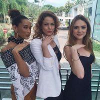 """Novela """"Cheias de Charme"""": Isabelle Drummond, Leandra Leal e Taís Araújo comemoram retorno juntas!"""