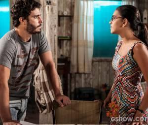 """Em """"Além do Horizonte"""", William (Thiago Rodrigues) arriscará a própria vida por Celina (Mariana Rios)"""