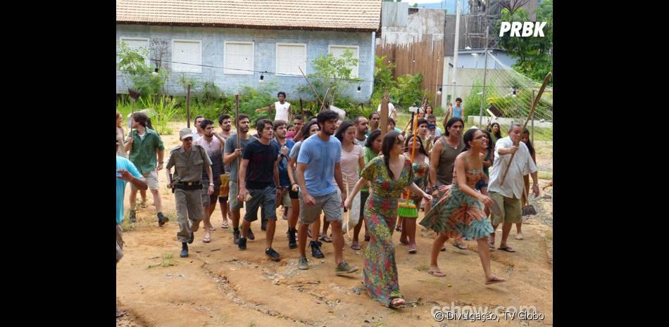 """Em """"Além do Horizonte"""", Celina (Mariana Rios) ficará em risco por causa de sua guerra contra Edu Dente de Ouro (Daniel Ribeiro)"""