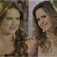 """Novela """"Haja Coração"""": Ana Paula Renault e Leonora voltam a brigar durante gravação de comercial!"""