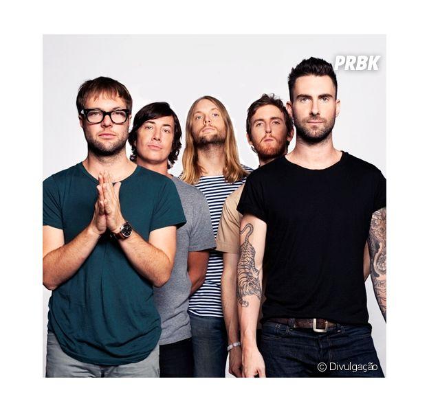 O Maroon 5 é um dos três grupos já escolhidos para subir ao palco do festival