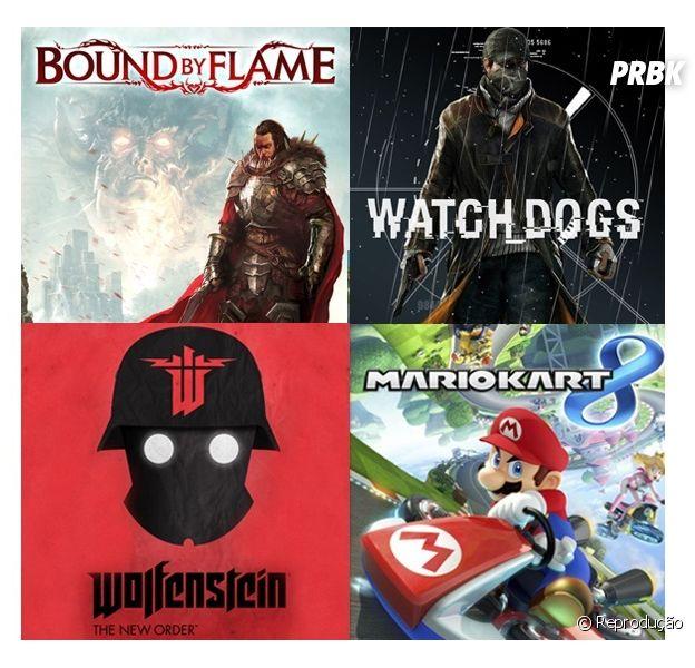 """Nos lançamentos dos games de maio tem destaque """"Watch Dogs"""" e """"Mario Kart 8"""""""