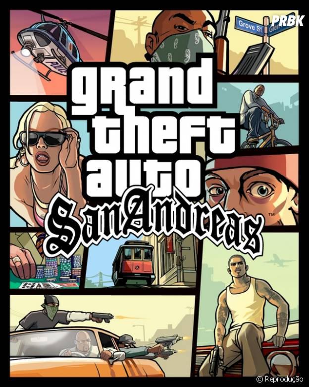 GTA San Andreas foi lançado em 2004