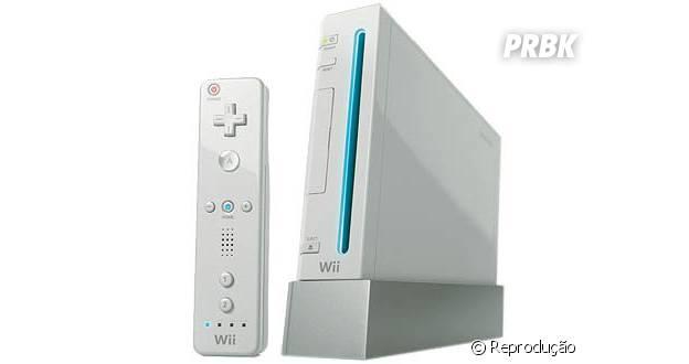 Wii revolucionou a indústria dos games com novo controles super modernos
