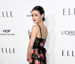 "Lucy Hale, de ""Pretty Little Liars"", arrasa no ELLE Women In Hollywood Awards 2016"