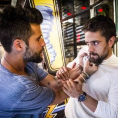 "Novela ""Sol Nascente"": Mario (Bruno Gagliasso) e César brigam por Alice!"