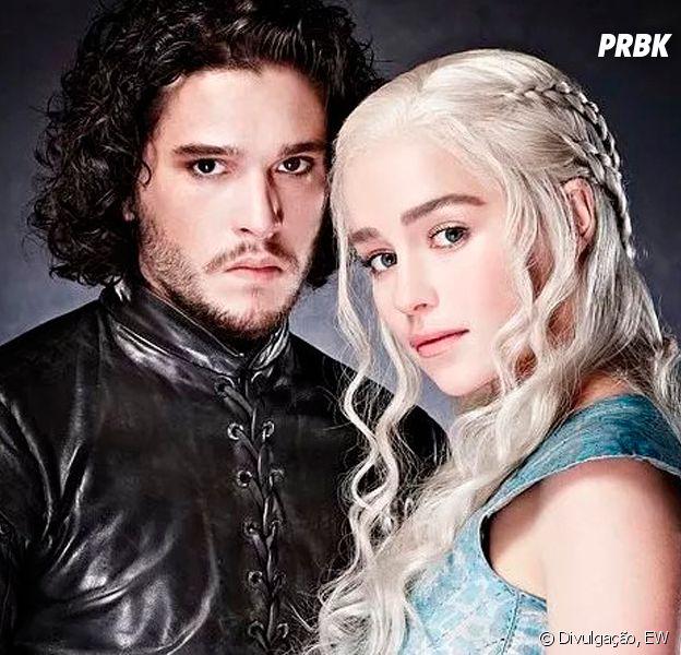 """Em """"Game of Thrones"""", Jon Snow e Daenerys têm desfecho revelado e muito mais!"""