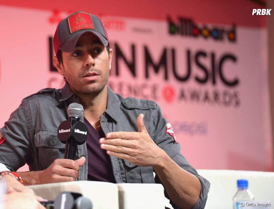 Enrique Iglesias chega ao Brasil para filmar com Luan Santana