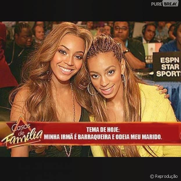 """Beyoncé e Solange vão parar em """"Casos de Família"""""""