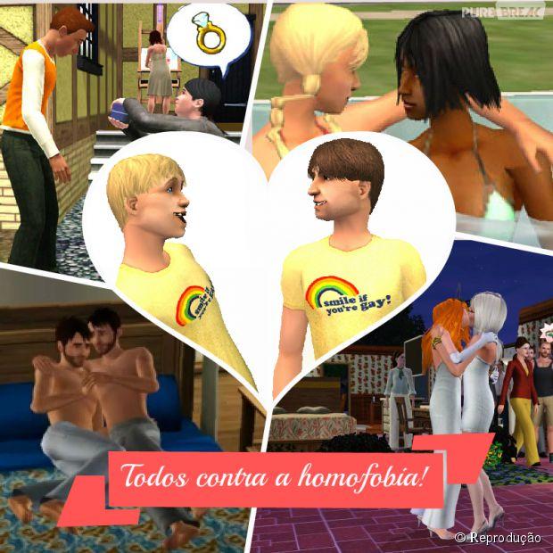 The Simis 4 não poderá ser vendido para menores por fazer publicidade ao homossexualismo