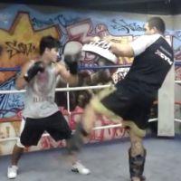 """Arthur Aguiar treina pesado muay thai para viver lutador em """"Malhação"""""""