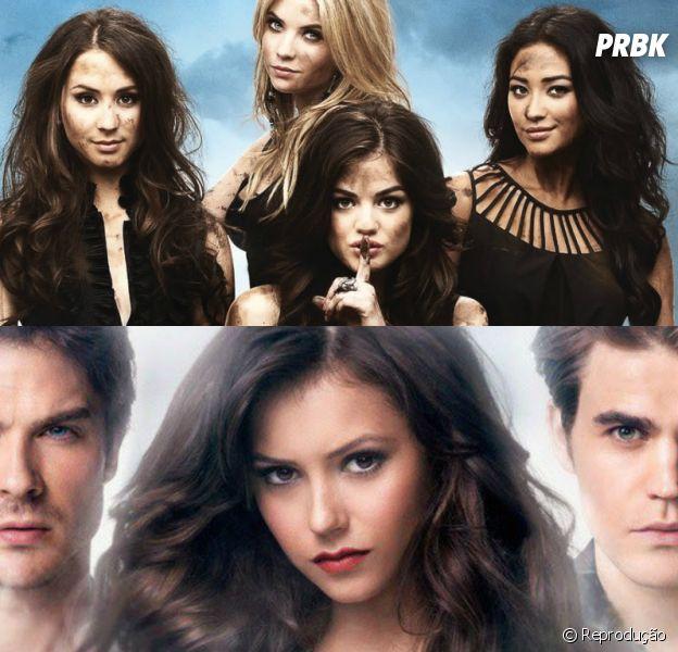 """The Vampire Diaries"" e ""Pretty Little Liars"""