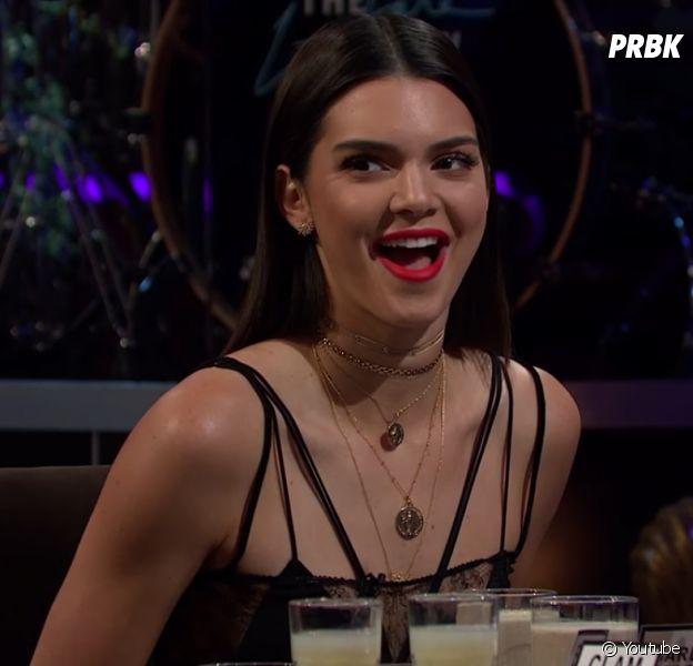 """Veja 6 coisas sobre Kendall Jenner que aprendemos com a participação da modelo no """"The Late Late Show with James Corden"""""""