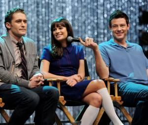 "Lea Michele namorava o ator Cory Monteith. O enlace comMatthew Morrison, teria acontecido antes do seriado ""Glee"""