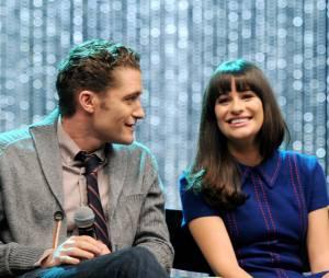"""Lea Michele assume que já viveu um breve romance com o atorMatthew Morrison, do """"Glee"""""""