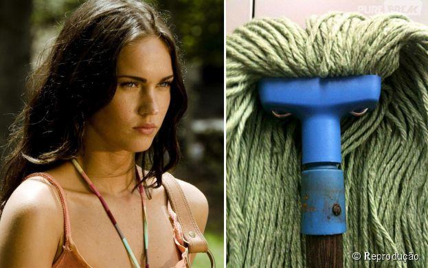 Megan Fox Vs Esfregão: Quem é o mais expressivo?