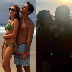 Marina Ruy Barbosa ou Sophia Abrahão? Quem está curtindo melhor a praia com o namorado?