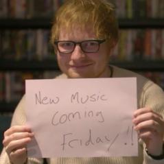 Ed Sheeran de música nova! No primeiro dia do ano, astro anuncia lançamento de single e fãs piram