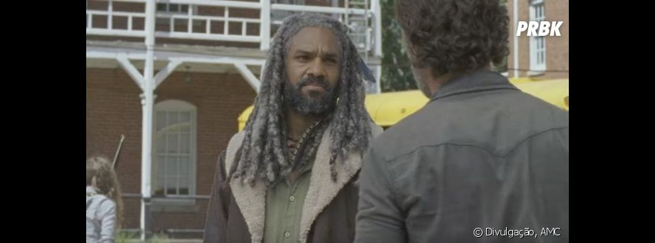 "De ""The Walking Dead"": será queEzekiel ( Khary Payton)  ajudará Rick (Andrew Lincoln) e companhia?"