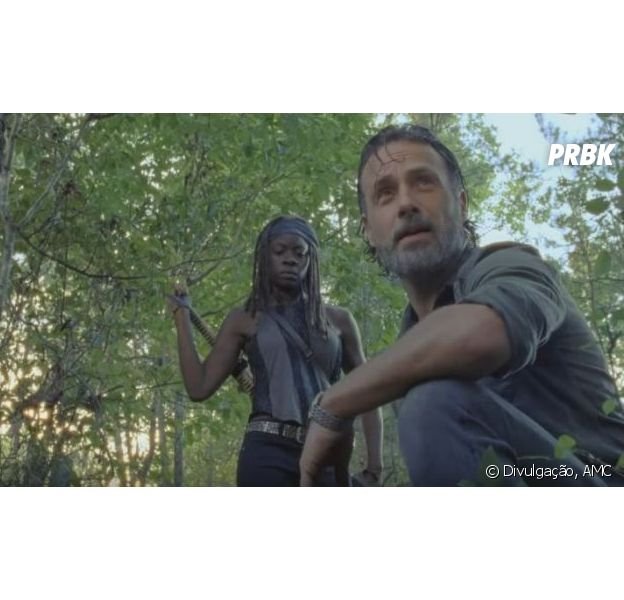 "Em ""The Walking Dead"", Rick (Andrew Lincoln) irá ralar para derrotar Negan (Jeffrey Dean Morgan)"