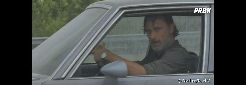 """Quando será que Rick (Andrew Lincoln) terá paz em """"The Walking Dead""""?"""