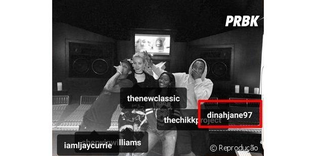 Dinnah Jane, do Fifth Harmony, é marcada em foto de Iggy Azalea!