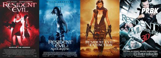 """""""Resident Evil"""" já coleciona cinco filmes inspirados na franquia"""