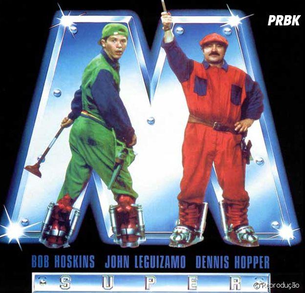 """O primeiro filme baseado em um jogo foi """"Super Mario Bros."""", de 1993"""