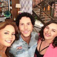 """Ex-RBD Christian Chávez se reencontra com elenco de """"Rebelde"""" em programa de TV!"""