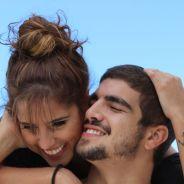 Caio Castro e Camilla Camargo nas primeiras fotos como par romântico em filme