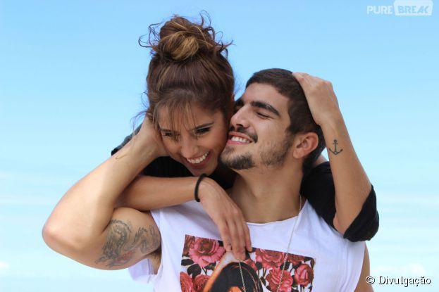 """Vejas as primeiras fotos de Caio Castro e Camilla Camargo no filme """"Travessia"""""""