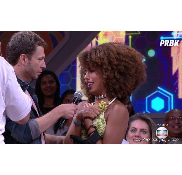 """No """"BBB17"""", Gabriela Flor é a primeira eliminada do reality"""