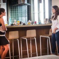 "Novela ""A Lei do Amor"": Marina (Alice Wegmann) e Letícia ficam cara a cara pela primeira vez!"