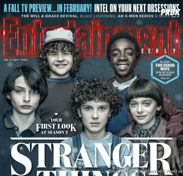 """De """"Stranger Things"""": a nova capa da EW traz Eleven com novo visual!"""