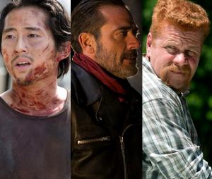 """Em """"The Walking Dead"""", Glenn e Abraham morrem pelas mãos de Negan"""