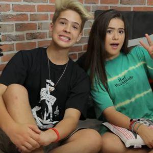Maisa e João Guilherme fazem um vídeo juntos no Youtube sobre micos na infância