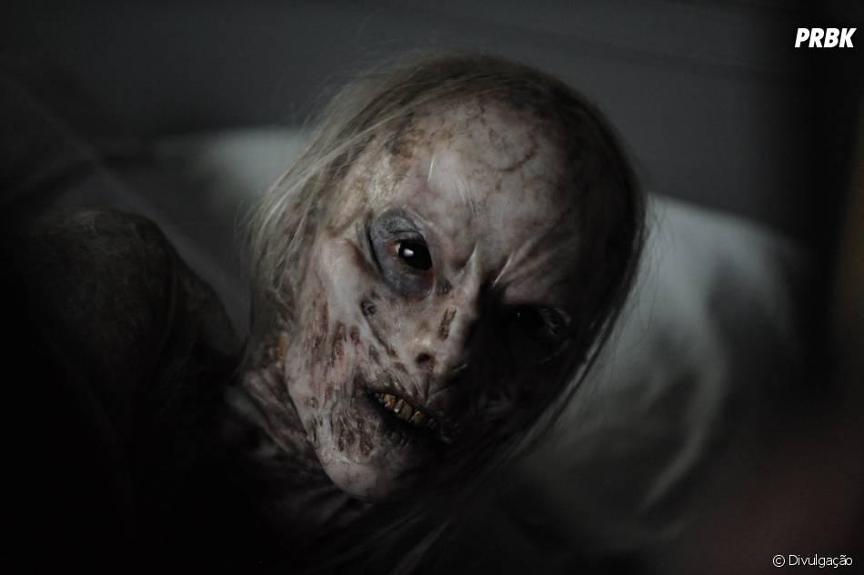 """Em """"A Face do Mal"""", criaturas aterrorizantes vão assombrar a vida de uma família"""