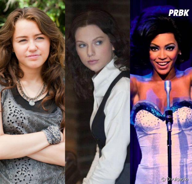 Miley Cyrus, Taylor Swift, Beyoncé e mais famosas que fizeram filmes incríveis!