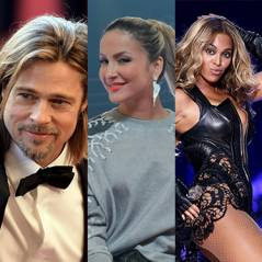 Sabia que Brad Pitt se vestiu de galinha? Saiba as profissões das celebs antes da fama