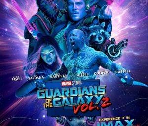 """""""Guardiões da Galáxia 2"""" ganha novo cartaz!"""